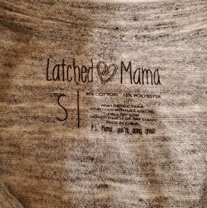 Latched Mama Breastfeeding Shirt